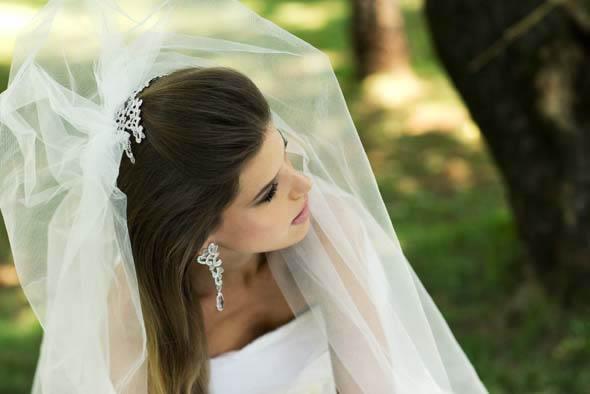 Mantilha E Véu De Noiva Para O Seu Casamento Marcia Marquez