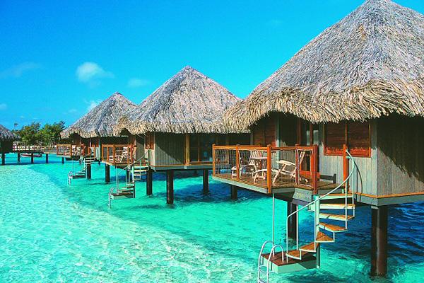 Bangalo em Tahiti