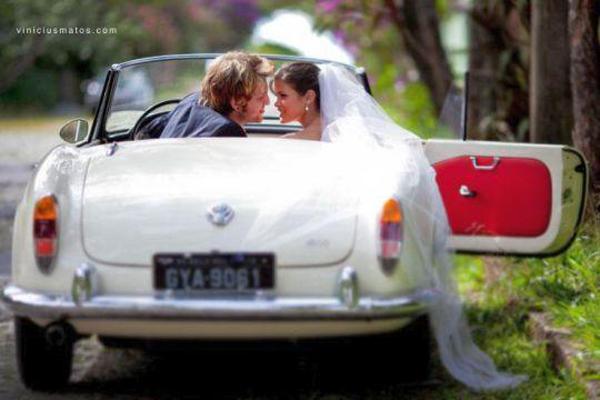 carro para noiva em BH