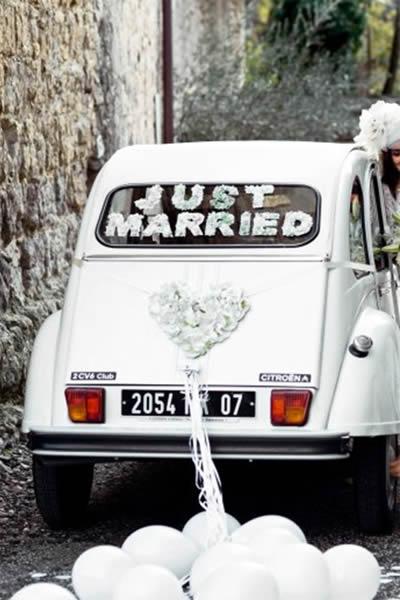 carro antigo para noiva