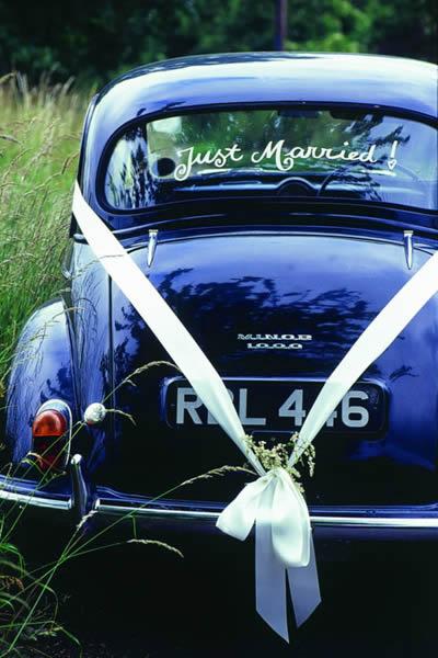 carro antigo no casamento