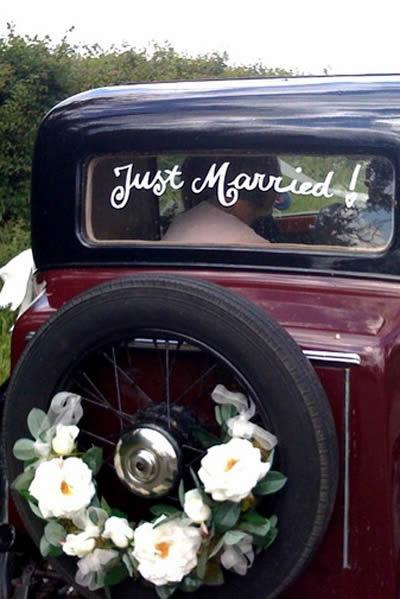 carro antigo para noiva no casamento